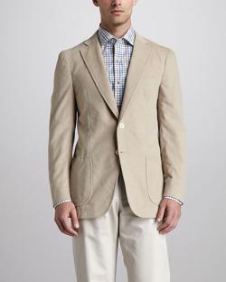 Isaia  - Fine-Wale Corduroy Sport Coat