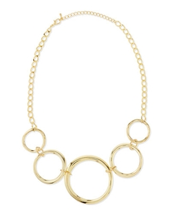 Jules Smith - Linked Circle Necklace