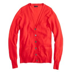 J.Crew - Collection Cashmere Boyfriend Cardigan Sweater