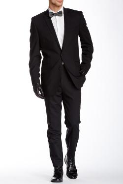 Ben Sherman - Kings Fit Notch Lapel Two Button Wool Suit