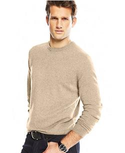 Club Room  - Cashmere Crew-Neck Sweater