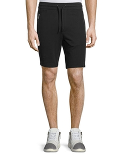 Michael Kors - Mesh-Trim Drawstring Shorts