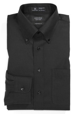 Nordstrom  - Wrinkle Free Traditional Fit Pinpoint Dress Shirt