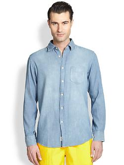 Faconnable  - Denim Sportshirt