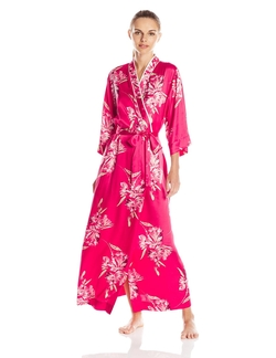 Oscar De La Renta - Floral Print Long Robe