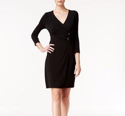 Alfani - Embellished Wrap Dress