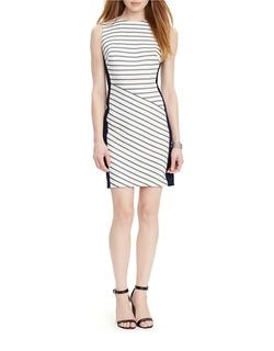 Lauren Ralph Lauren - Sleeveless Striped Dress