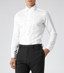 Roulette - Pleat Front Shirt