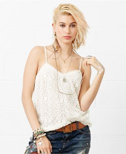 Denim & Supply Ralph Lauren  - Crochet-Lace Camisole