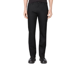 Calvin Klein - Stretch Black Slim-Straight Fit Jeans