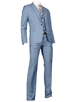 YWWH - Slim Fit Three Piece Suit
