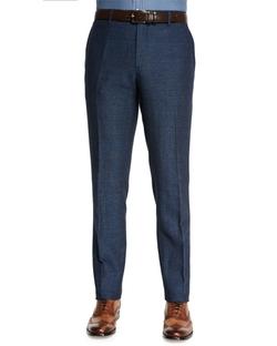 Etro - Herringbone Flat-Front Pants
