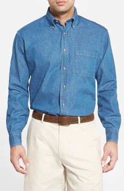 Bills Khakis -  Standard Fit Denim Sport Shirt