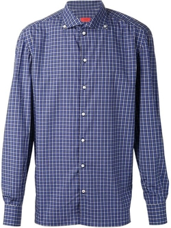 Isaia - Button Down Check Shirt