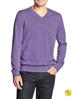 Banana Republic - Factory Classic V-Neck Sweater