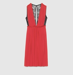 Gucci - Viscose Jersey Mid-Length Dress