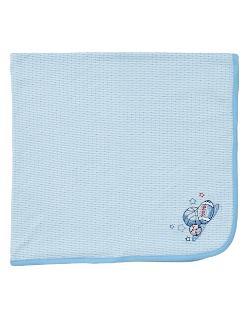 Little Me - Newborn Boys 0-9 Months MVP Tag Along Blanket