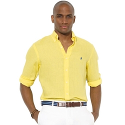 Polo Ralph Lauren - Classic-Fit Linen Long Sleeve Shirt