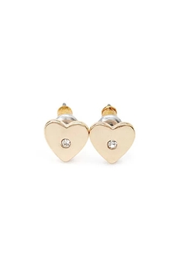 Forever 21 - Heart-Shaped Studs