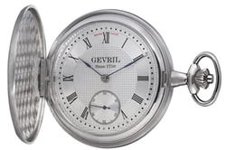 Gevril - Mechanical Hand Wind Swiss Pocket Watch
