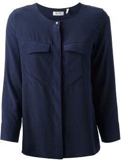 MIH JEANS  - side slit blouse