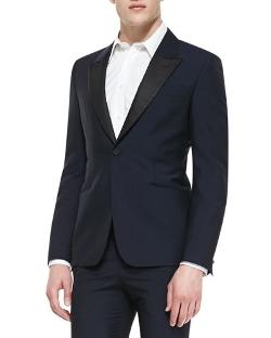 Alexander McQueen - Faille-Lapel Tuxedo Jacket