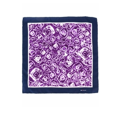 Kiton - Tie-Dye Pocket Square