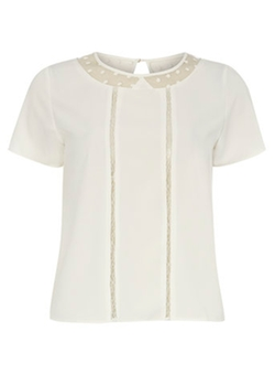 Poppy Lux - Cap Sleeve Blouse
