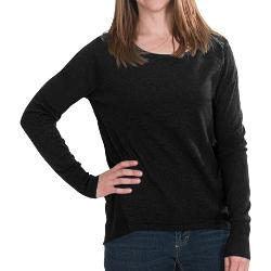Lilla P - Knit and Woven Sweater