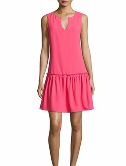 Trina Turk  - Yarrow Sleeveless Crepe Dress