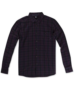 Element Bunker  - Plaid Long-Sleeve Button-Down Shirt