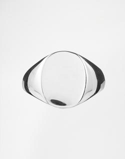 Ringasos - Sterling Silver Signet Ring