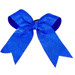 Cheerleading Company - Metallic Short Tail Bow