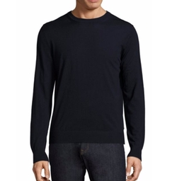 Z Zegna - Solid Merino Wool Sweater