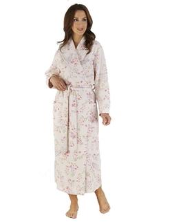 Slenderella  - Pink Floral Print Robe