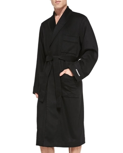 Neiman Marcus - Cashmere Belted Robe