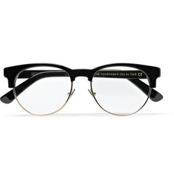 Eyeglass Frames From Kingsman : Mark Strong Cutler & Gross 0755 Frame Eyeglasses - Black ...