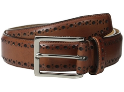 Cole Haan - Feather Edge Stitch Belt