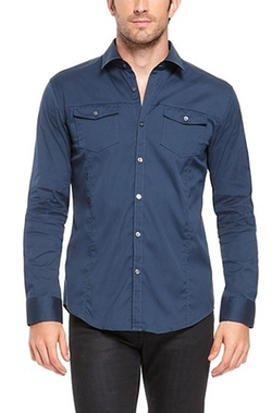 Boss Hugo Boss - Stretch Cotton-Blend Button Down Shirt