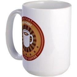 CafePress - Instant FBI Agent Large Mug