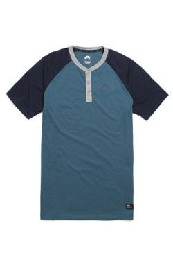 Nike SB  - Davis Dri-Fit Short Sleeve Henley T-Shirt