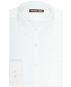 Michael Kors - Solid Sateen Dress Shirt