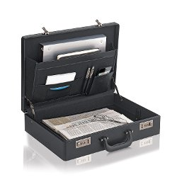 Solo - Classic Collection Expandable Attache Briefcase