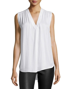 Vince - V-Neck Sleeveless Top