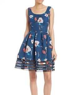 Sachin & Babi - Vienne Printed Dress