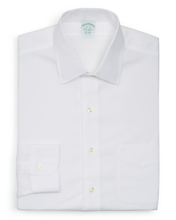 Brooks Brothers - Solid Non–Iron Dress Shirt
