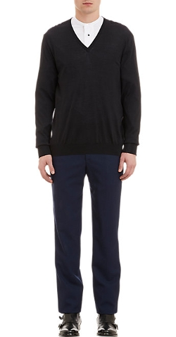 Alexander Mcqueen - V-Neck Sweater