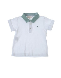 Aletta - Contrast Polo Shirt