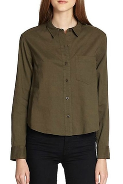 Theory  - Damilo Crunch Button-Down Shirt