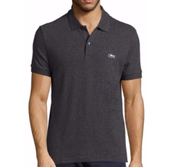 Lacoste  - Pique Tri-Color Croc Polo Shirt